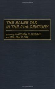 Cover of: sales tax in the 21st century |