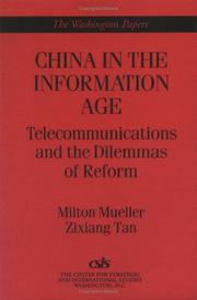 Cover of: China in the information age