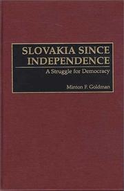 Cover of: Slovakia since independence