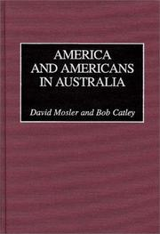Cover of: America and Americans in Australia