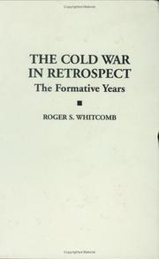 Cover of: Cold War in retrospect | Roger S. Whitcomb