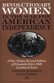 Cover of: Revolutionary women in the War for American Independence