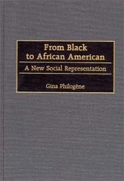 Cover of: From Black to African American