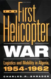 Cover of: The first helicopter war