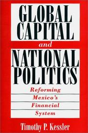 Cover of: Global capital and national politics