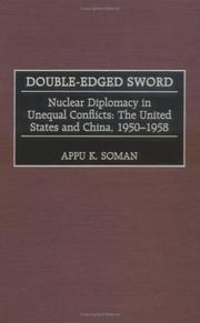Cover of: Double-edged sword | Appu Kuttan Soman