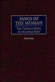 Cover of: Pangs of the Messiah | Martin Sicker