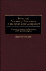 Cover of: Scientific discovery processes in humans and computers