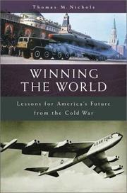 Cover of: Winning the world