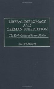 Cover of: Liberal diplomacy and German unification