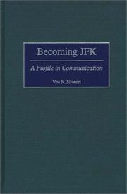 Cover of: Becoming JFK