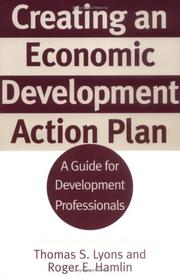 Cover of: Creating an Economic Development Action Plan | Thomas S. Lyons