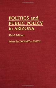 Cover of: Politics and Public Policy in Arizona