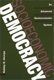 Cover of: Socioeconomic Democracy | Robley E. George