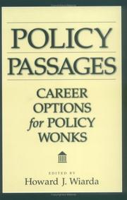 Cover of: Policy Passages