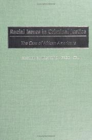 Cover of: Racial Issues in Criminal Justice