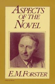 Cover of: Aspects of the novel