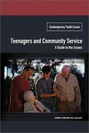 Cover of: Teenagers and Community Service | Maureen E. Kenny