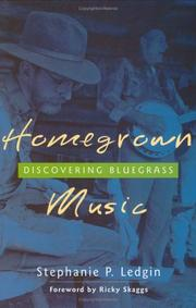 Cover of: Homegrown Music | Stephanie P. Ledgin
