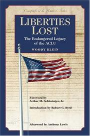 Cover of: Liberties Lost