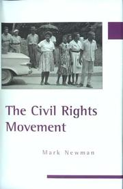 Cover of: The Civil Rights Movement