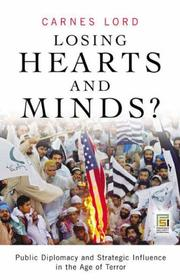 Cover of: Losing Hearts and Minds? | Carnes Lord