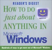 Cover of: How to do Just About Anything in Microsoft Windows | Reader