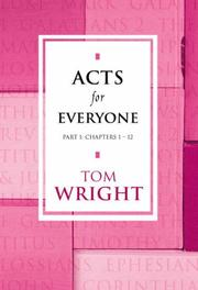 Cover of: Acts foreveryone