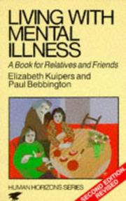 Cover of: Living with mental illness