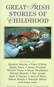 Cover of: Great Irish Stories of Childhood