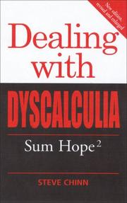 Cover of: Dealing with Dyscalculia