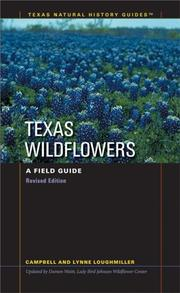 Cover of: Texas wildflowers | Campbell Loughmiller