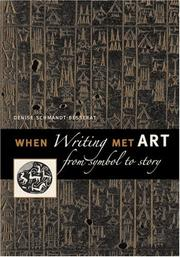 Cover of: When Writing Met Art