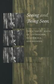 Cover of: Seeing and Being Seen | Hilary E. Kahn