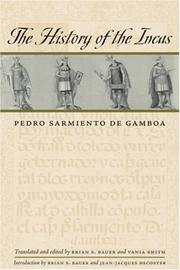 Cover of: The history of the Incas