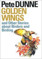 Cover of: Golden Wings and Other Stories about Birders and Birding (Corrie Herring Hooks Series)