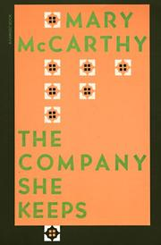 Cover of: The Company She Keeps