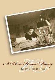Cover of: A White House diary
