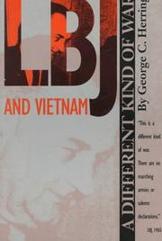 Cover of: LBJ and Vietnam