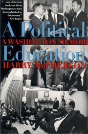 Cover of: A political education