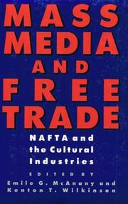 Cover of: Mass Media and Free Trade |