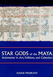 Cover of: Star Gods of the Maya | Susan Milbrath