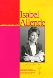 Cover of: Conversations with Isabel Allende