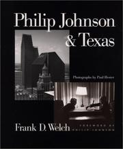 Cover of: Philip Johnson & Texas