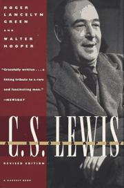 Cover of: C.S. Lewis: a biography