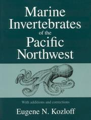 Cover of: Marine invertebrates of the Pacific Northwest