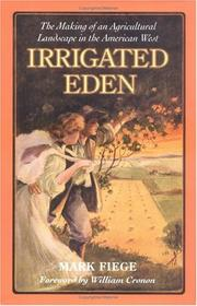 Cover of: Irrigated Eden | Mark Fiege