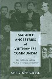 Cover of: Imagined Ancestries Of Vietnamese Communism | Christoph Giebel