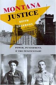 Cover of: Montana Justice | Keith Edgerton