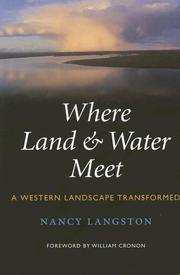 Cover of: Where Land & Water Meet